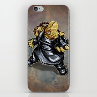 resident evil iPhone & iPod Skins featuring Nemesis: Resident Evil by Patrick Scullin