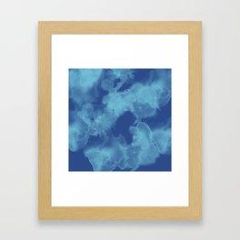 Lapislazzulo Framed Art Print
