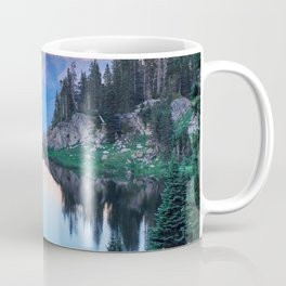 Hikers Bliss Perfect Scenic Nature View \ Mountain Lake Sunset Beautiful Backpacking Landscape Photo Coffee Mug