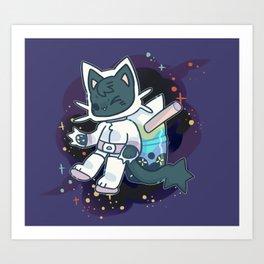 BTSK - SPACE CADET Art Print