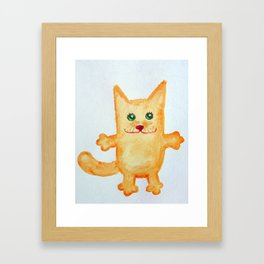 tha catty Framed Art Print