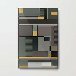 BAUHAUS ARTE Metal Print