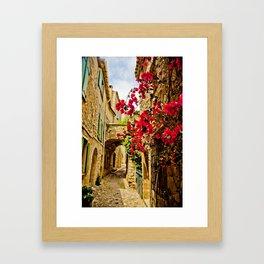 Provincial France Framed Art Print