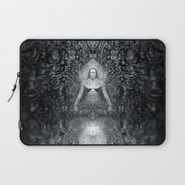 In communion With Mahaavatar Babaji (Vision 4) Laptop Sleeve