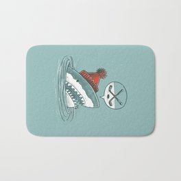 Hockey Shark Bath Mat