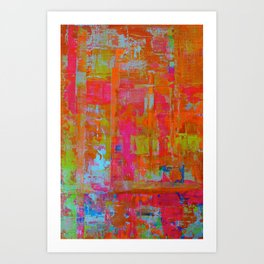 Alegria 1 -Dyptich Art Print