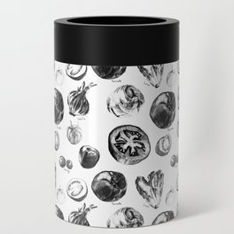 salad pattern Can Cooler