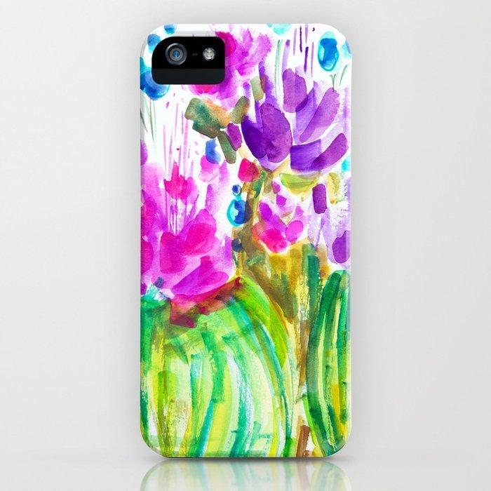 Flowerista Cactus iPhone Case