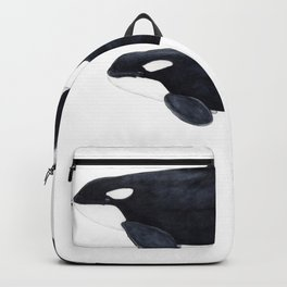 Orca male and female Backpack