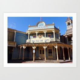 MAGIC KINGDOM: Pecos Bill Tall Tale Inn Art Print