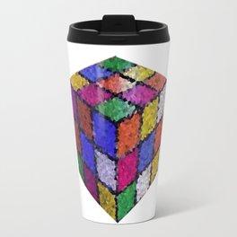 The color cube Travel Mug