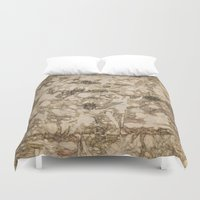 da vinci Duvet Covers featuring da Vinci Angels by Bruce Stanfield