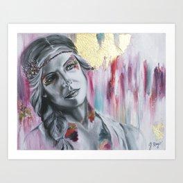 Dani Art Print