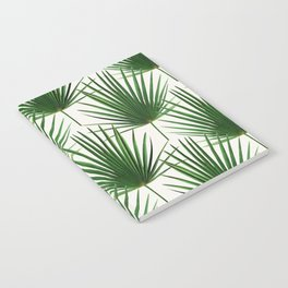 Simple Palm Leaf Geometry Notebook