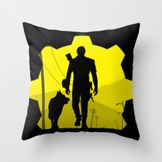 Vault 111 life Throw Pillow