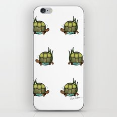 Turtle in a Circle iPhone Skin