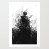 evil Art Prints featuring Evil by Nechifor Ionut
