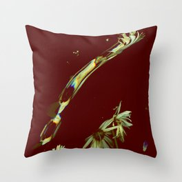 Smeared Daisy | Real Daisy Flowers, Surreal, Digital Photo, Soft Grunge  Throw Pillow