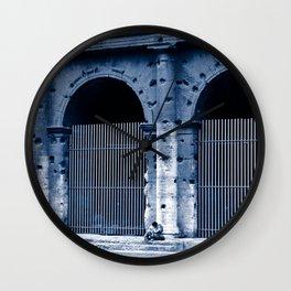 LOVERS - Rome - Italy  Wall Clock