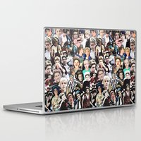niall horan Laptop & iPad Skins featuring Niall Horan - Collage by Pepe the frog