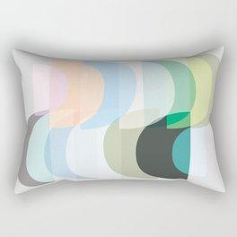 Pastel Geometry 3 Rectangular Pillow