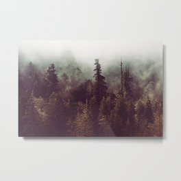 Weekend Escape - Forest Nature Photography Metal Print