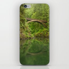 Emerald Reflections iPhone Skin