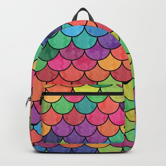 Watercolor Lovely Pattern VVXVII Backpack