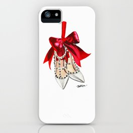 Rock Studs Shoes iPhone Case