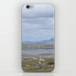 View From Croagh Patrick iPhone Skin