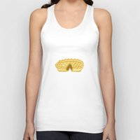 pie Tank Tops featuring PIE  by Kathryn Nyquist