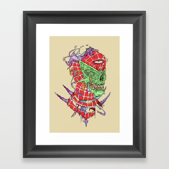 Zombie Sense Framed Art Print