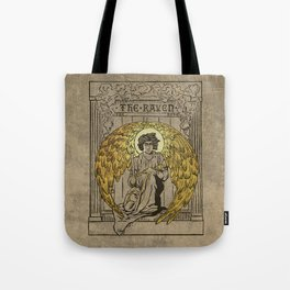 The Raven. 1884 edition cover Tote Bag
