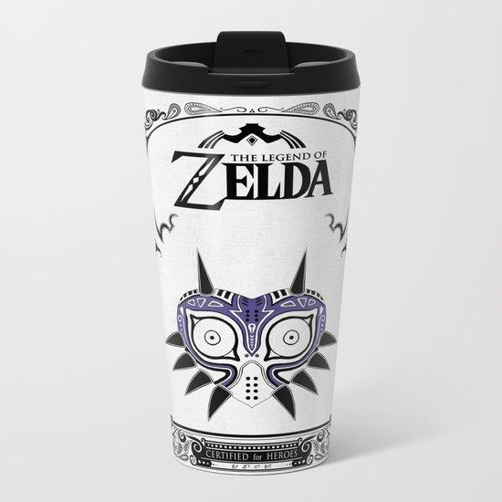 Zelda legend - Majora's mask Metal Travel Mug