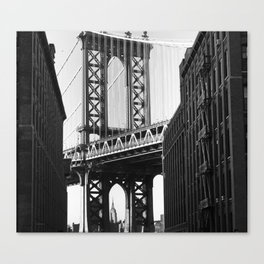 Let me Live in your City  Canvas Print
