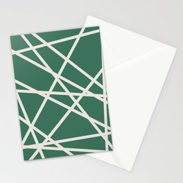 Emerald Lines Stationery Cards