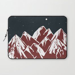 galactic mountains Laptop Sleeve
