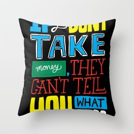 The key to the whole thing Throw Pillow