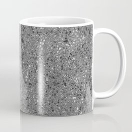 irregular shape silver pattern Coffee Mug