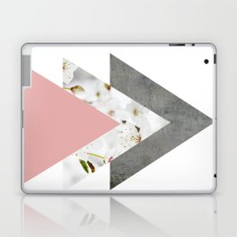 Blossoms Arrows Collage Laptop & iPad Skin