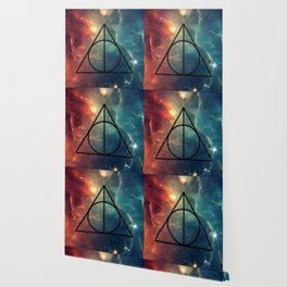 Deathly Hallows Cosmos HP Wallpaper