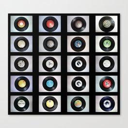 Record Typology Canvas Print