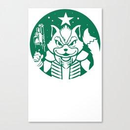 Starfox Coffee Canvas Print
