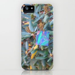 I Try to be Renè Magrite: Take 6 iPhone Case