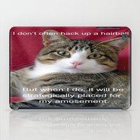 meme iPad Cases featuring TJ Meme by Frankie Cat