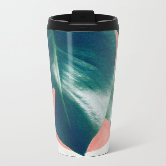 MONSTERA #1 Metal Travel Mug