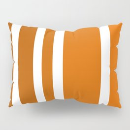 Striped Ombre in Orange Pillow Sham