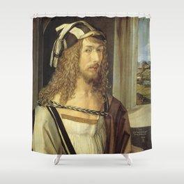 Self-Portrait by Albrecht Dürer Shower Curtain
