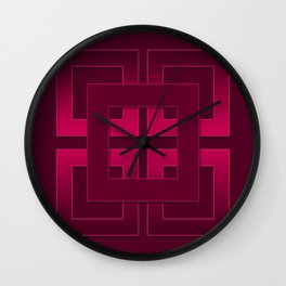 Rubin , geometric Wall Clock