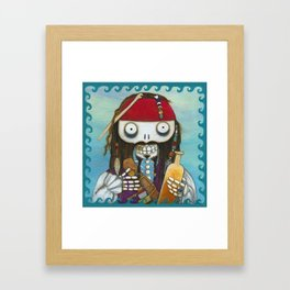 Captain Jacque Framed Art Print